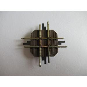 ブッシュ/BUSCH 12340 HOf (1/87,6.5mm) クロッシングレール (33.3mm/90°)|narrow-gauge-shop