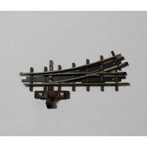 ブッシュ/BUSCH 12341 HOf (1/87,6.5mm) 左ポイントレール 66.6mm (R175mm/22.5°)|narrow-gauge-shop