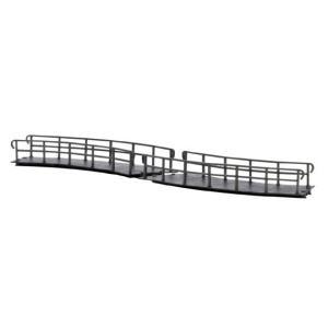 ブッシュ/BUSCH 12386 HOf (1/87) カーブブリッジ (R115mm/45°)|narrow-gauge-shop