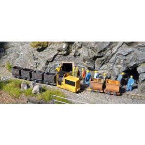 ブッシュ/BUSCH 5010 HOf (1/87,6.5mm) 鉱山機関車 B360 Yellow|narrow-gauge-shop