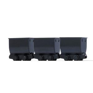 ブッシュ/BUSCH 貨車 5021 HOf (1/87,6.5mm) チッパーワゴン 3輌セット Black|narrow-gauge-shop