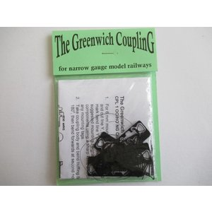 Greenwich Coupling CPL1 OO/HO Narrow Gauge Couplings (5個)|narrow-gauge-shop