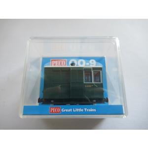 PECO GR-530 OO-9 (9mm,1/76) 4 Wheel Tramway Break Coach|narrow-gauge-shop