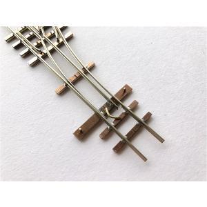 【PECO互換】HOナロー(9mm) オリジナルポイントレール(右) R140mm コード80 エレクトロフログ(篠原模型方式)【極小半径】|narrow-gauge-shop|06