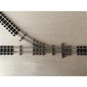 【PECO互換】HOナロー(9mm) オリジナルポイントレール(右) R140mm コード80 エレクトロフログ(篠原模型方式)【極小半径】|narrow-gauge-shop|07