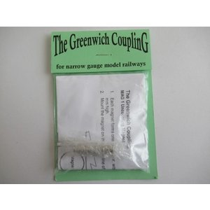 Greenwich Coupling  MAG 1 Uncoupling Magnet (10個)|narrow-gauge-shop