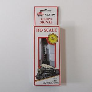 モデルパワー 1680 HOゲージ 3灯式 警告信号 (リレーボックス付き) narrow-gauge-shop