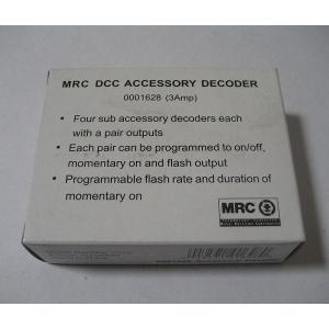 MRC 1628 アクセサリーデコーダー / ステーショナリーデコーダー|narrow-gauge-shop