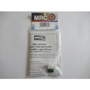 MRC 1834 HO DCCデコーダー (サウンドなし) 8ピンプラグ対応|narrow-gauge-shop