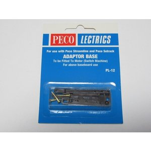 PECO PL-12 アダプターベース(バネあり) 1個入り|narrow-gauge-shop