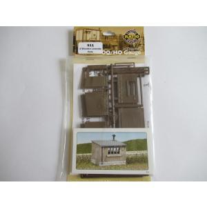 RATIO R-511 OOゲージ (1/76) 保線員小屋 (木製) (42mm x 32mm) (2棟入り)|narrow-gauge-shop