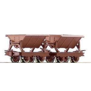 ロコ/Roco 34498 HOe ナベトロ (Vチップ) (x2) ブラウン|narrow-gauge-shop