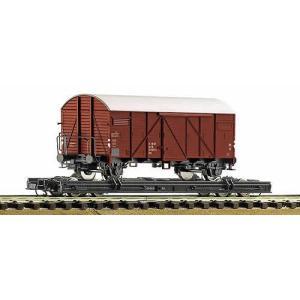 ロコ/Roco 34598 HOe ロールワーゲン(ボックスカー付き)|narrow-gauge-shop