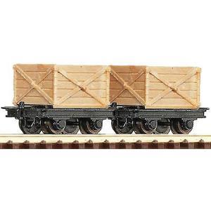 ロコ/Roco 34603 HOe 木製ワゴン (x2)|narrow-gauge-shop