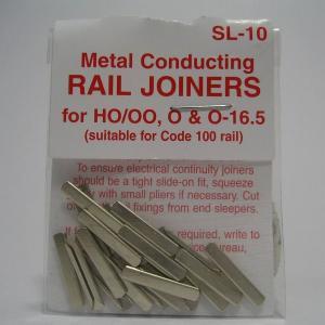 PECO SL-10 HO/OO/O/On30 金属ジョイナー (コード100) (24個入)|narrow-gauge-shop