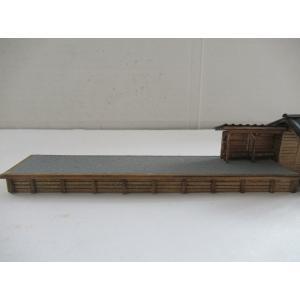 ナローゲージショップ オリジナルストラクチャー 1/150 Nスケール 軽便駅舎 str-n-1|narrow-gauge-shop|06