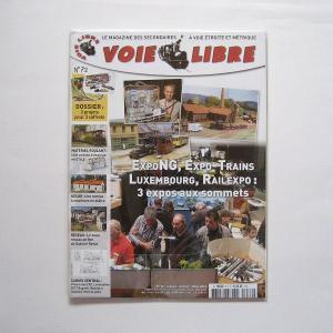Voie Libre No.72 (2013年 1/2/3月号)|narrow-gauge-shop