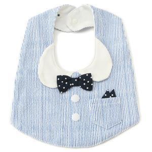 ■新生児 ■つけるだけでシャツを着ているようなルックスにチェンジできるスタイです。蝶ネクタイつきのデ...