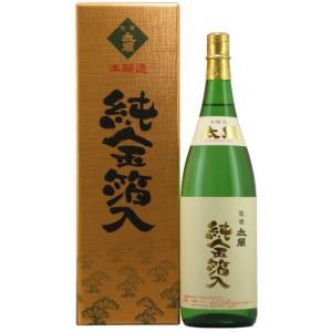 聚楽太閤 本醸造金箔入り 1800ml|narutaki
