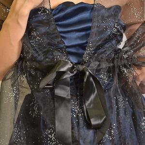 ショール ストール 結婚式 ラメ キラキラ サテン リボン ドレス オーガンジー|nary|04