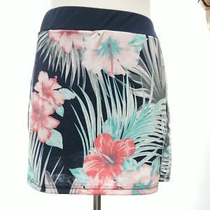 ゴルフウェア セットアップ レディース 花柄 フラワー  スカート 長袖 可愛い|nary|20