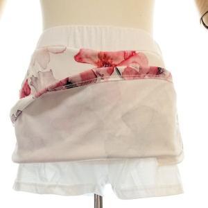 ゴルフウェア レディース セットアップ 上下 スカート 花柄 半袖|nary|06