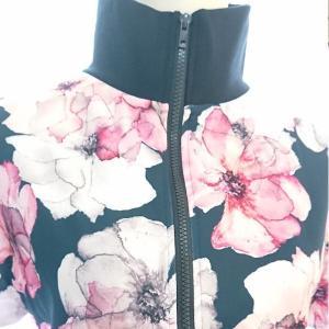 ゴルフウェア レディース セットアップ 上下 スカート 花柄 半袖|nary|08