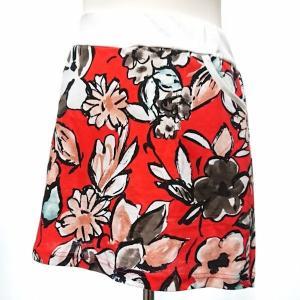 セットアップ レディース ゴルフウェア パーカー 半袖 スカート 花柄|nary|11