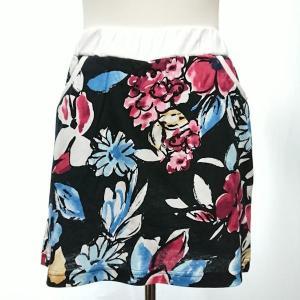 セットアップ レディース ゴルフウェア パーカー 半袖 スカート 花柄|nary|15