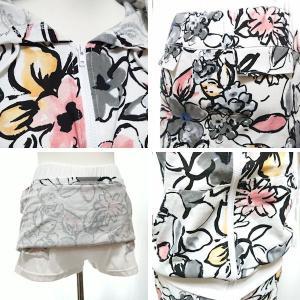 セットアップ レディース ゴルフウェア パーカー 半袖 スカート 花柄|nary|18
