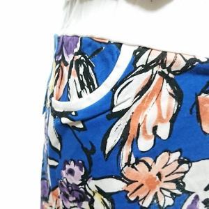 セットアップ レディース ゴルフウェア パーカー 半袖 スカート 花柄|nary|08