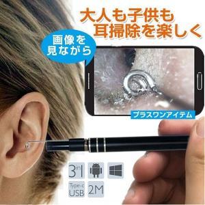 耳かき 電子耳鏡 耳道内 携帯 パソコン接続 ハイビジョンカメラ 内視鏡 ledライト付き 耳掃除 多用途 防水ボアスコープ検査カメラ 明るさを調節可