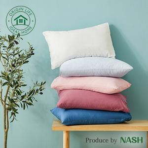 タオル工場がプロデュースして開発したスタンダードタイプの枕カバーです。 シンプルな設計で開発しました...