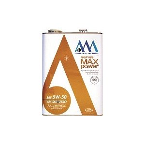 AAA エンジンオイル  MAX power 5W-50 4...