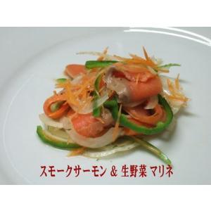 KISAKU スモークサーモン スライス5Kg(1Kg×5)|nasu-kisaku5|06