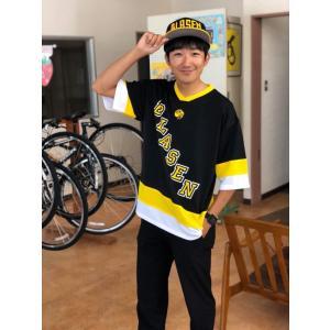 ドライ ホッケーTシャツ  お洒落 ユニセックス コーデ ストリート スポーツ 観戦|nasublasen2012