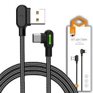 USB Type-Cケーブル L型 長さ 0.5m Type-C 充電 高速充電 データ転送ケーブル...