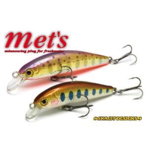スカジットデザインズ ルアー メッツ mets 40mm FastSinking 3.2g SKAGIT DESIGNS ミノー 渓流の定番ミノー|native-fish-dreams