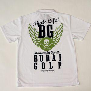 [BURAI GOLF] ブライ・ゴルフ ドライスカルポロシャツ BG−SP018|nativeplace