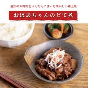 【お試し10%オフセール!!】おばあちゃんのどてに 400g (2人前×2袋) ホルモン モツ煮 お中元 ギフト 贈答用 プレゼント 豚肉 肉 おつまみ natsume-horumon