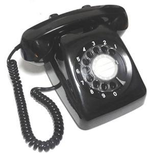 NTT 601-A2 ダイヤル式電話機 (黒電話)|natsumestore