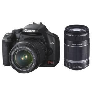 Canon デジタル一眼レフカメラ EOS Kiss X2 ダブルズームキット KISSX2-WKIT natsumestore