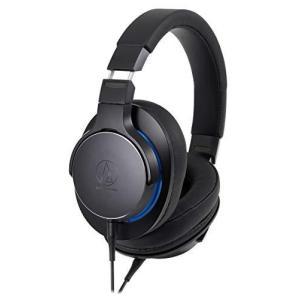 audio-technica SoundReality ポータブルヘッドホン ハイレゾ音源対応 ブラック ATH-MSR7b BK natsumestore