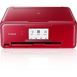 キヤノン インクジェット複合機TS8130 RED PIXUSTS8130RD|natsumestore