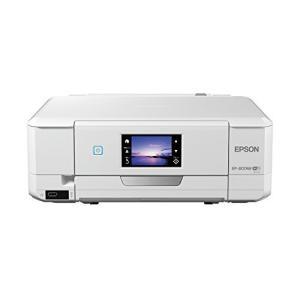 旧モデル エプソン プリンター インクジェット複合機 Colorio EP-807AW 無線 有線 スマホプリント Wi-Fi ホワイト|natsumestore