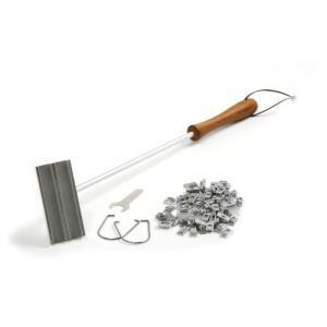 Norpro デラックス バーベキュー 肉 焼き印 アルファベット 鉄 /Measures:18 inch / 45.5cm natsumestore