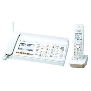 パナソニック おたっくす デジタルコードレスFAX 子機1台付き 1.9GHz DECT準拠方式 ホワイト KX-PD303DL-W|natsumestore