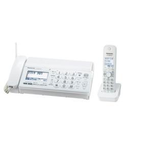 パナソニック おたっくす デジタルコードレスFAX 子機1台付き 1.9GHz DECT準拠方式 ホワイト KX-PD301DL-W|natsumestore