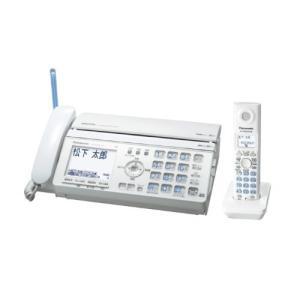 パナソニック おたっくす デジタルコードレスFAX 子機1台付き ホワイト KX-PW521XL-W|natsumestore