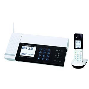パナソニック おたっくす デジタルコードレスFAX 子機1台付き スマホ連動 Wi-Fi搭載 ホワイト KX-PD101DL-W|natsumestore